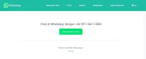 Cara Kirim Pesan WhatsApp Tanpa Simpan Nomor Kontak Penerima