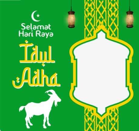 100 Link Twibbon Idul Adha 1442 H 1
