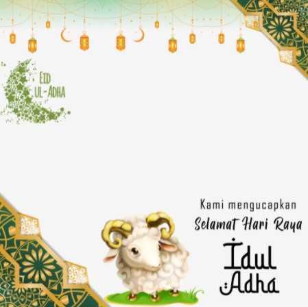 100 Link Twibbon Idul Adha 1442 H 2