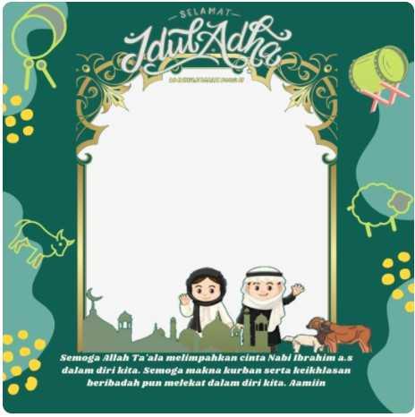 100 Link Twibbon Idul Adha 1442 H 3