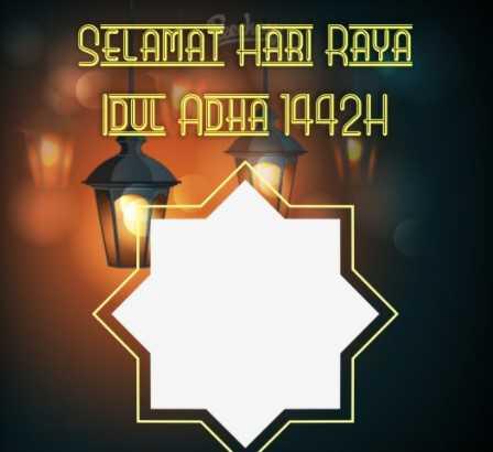 100 Link Twibbon Idul Adha 1442 H 5