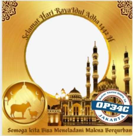 55 Twibbon Bingkai Ucapan Hari Raya Idul Adha 1442 H Gratis Disini 2