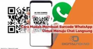 Cara Mudah Membuat Barcode WhatsApp Untuk Menuju Chat Langsung