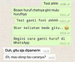 Wajib Tau! Cara Mudah Mengubah Tulisan di WhatsApp Menjadi Keren
