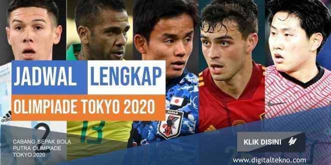 jadwal lengkap olimpiade tokyo 2020 Sepak bola