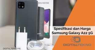 Spesifikasi Samsung Galaxy A22 5G dan Harganya