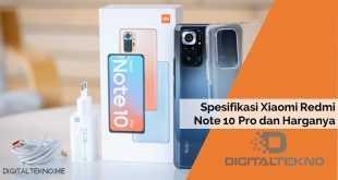 Spesifikasi Xiaomi Redmi Note 10 Pro dan Harganya